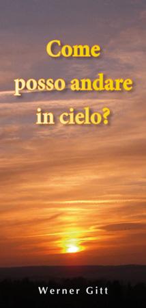 Italienisch: Wie komme ich in den Himmel?