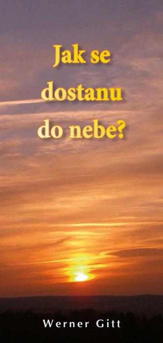 Tschechisch: Wie komme ich in den Himmel?