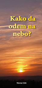 Serbisch: Wie komme ich in den Himmel? (lateinisch)