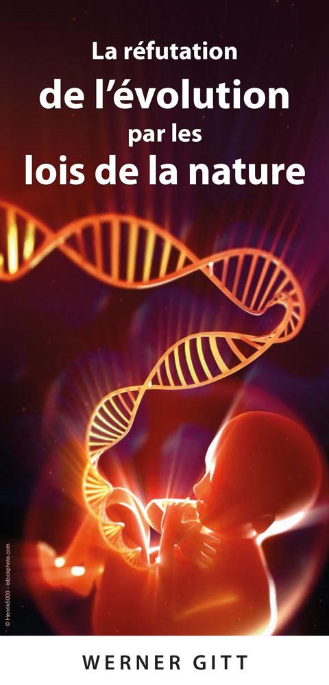 Französisch: Widerlegung der Evolution durch Naturgesetze