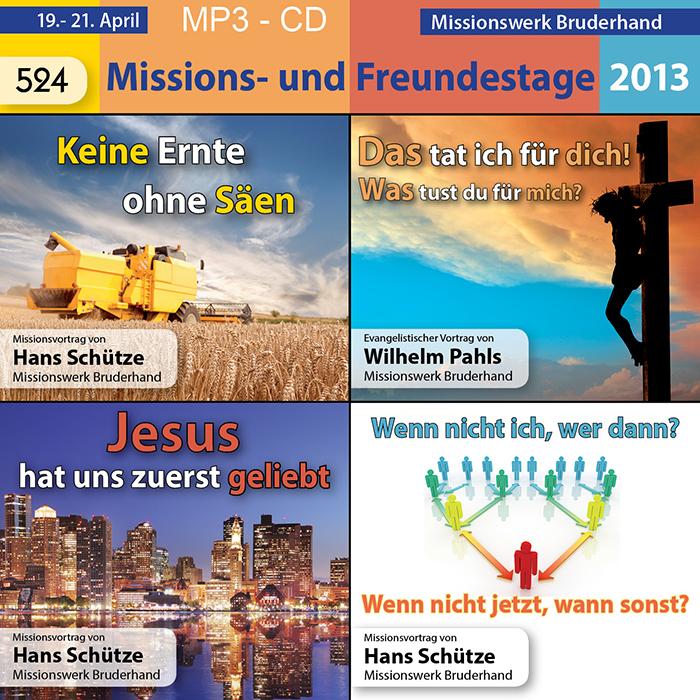 Missions- und Freundestage 2013 – alle Vorträge