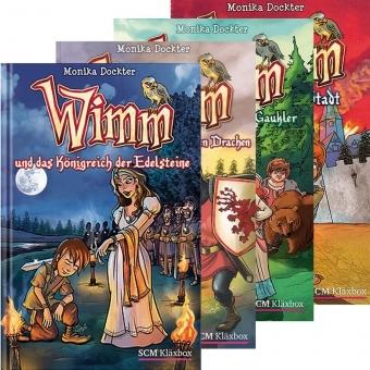 3er Pack: Wimm-Bücher