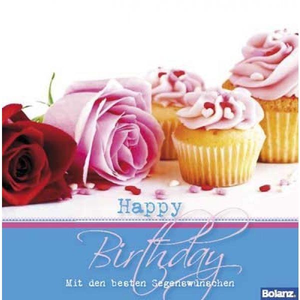 Happy Birthday – Mit den besten Segenswünschen