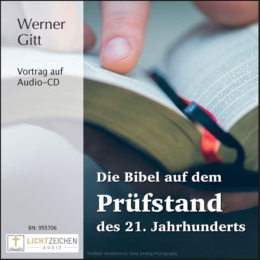 Die Bibel auf dem Prüfstand des 21. Jahrhunderts (Audio-CD)