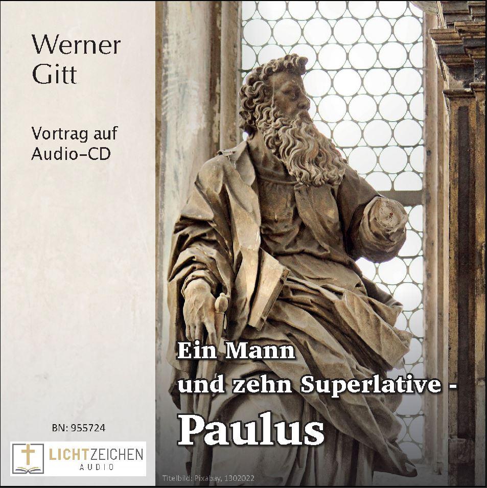 Ein Mann und zehn Superlative – Paulus (Audio-CD)