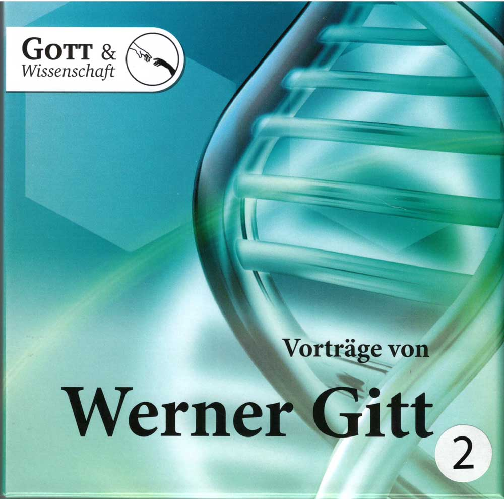 Vorträge von Werner Gitt - Box mit 10 CDs