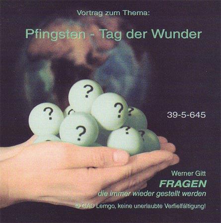 Pfingsten - Tag der Wunder