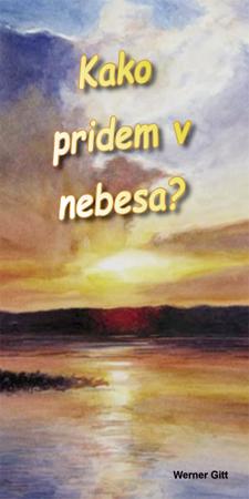 Slowenisch: Wie komme ich in den Himmel?