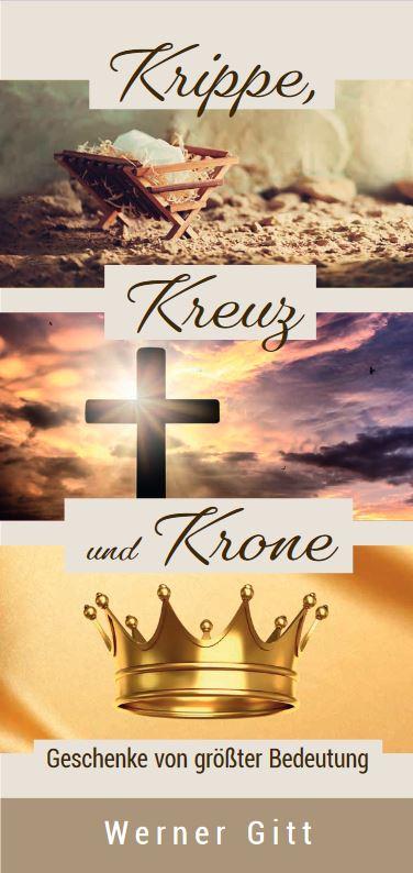 Krippe, Kreuz und Krone