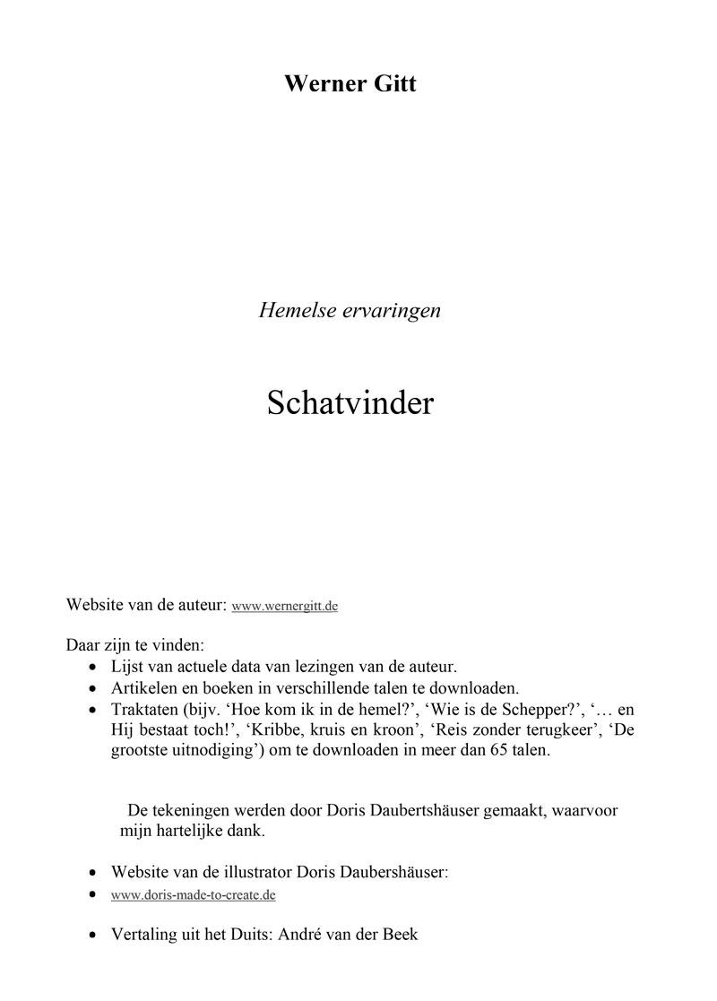 Niederländisch: Schatzfinder