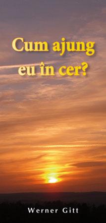 Rumänisch: Wie komme ich in den Himmel?