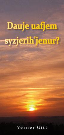 Circassian: Wie komme ich in den Himmel? (Lateinisch)